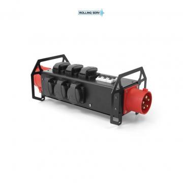 Banda de alimentare Power bar 0,5m 8x 16A 230V de la Sc Rolling Serv Srl