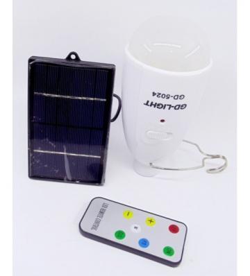Panou solar cu bec pe leduri GD-5024