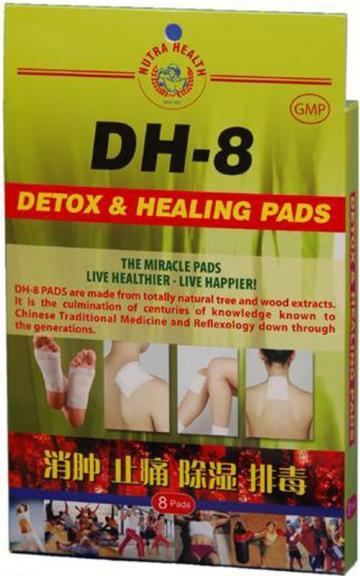 Plasturi pentru detoxifiere si vindecare DH-8