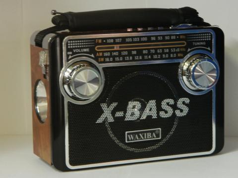 Radio cu lanterna si MP3 player Waxiba XB-3068URT de la Preturi Rezonabile