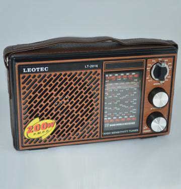 Radio portabil Leotec LT-2016 World Receiver