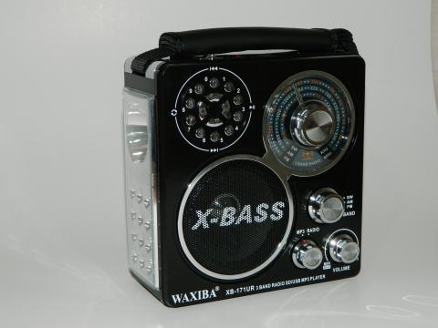 Radio portabil cu MP3 player Waxiba XB-171UR