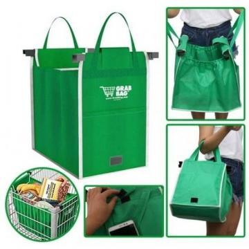 Set 2 sacose pentru cumparaturi Grab Bag de la Www.oferteshop.ro - Cadouri Online