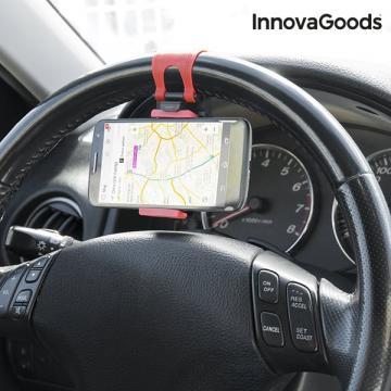 Suport telefon mobil pentru volan de la Plasma Trade Srl (happymax.ro)