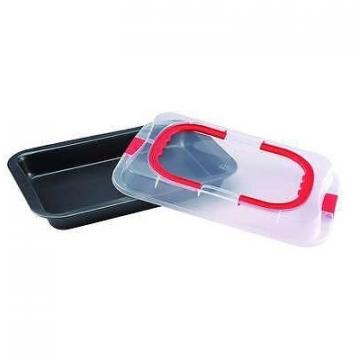 Tava cuptor cu capac plastic RB 3546