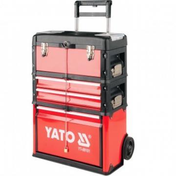 Troler pentru scule din 3 unitati, 45kG, Yato YT-09101 de la Viva Metal Decor Srl