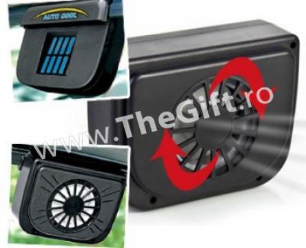 Ventilator solar pentru masina, Auto Cool