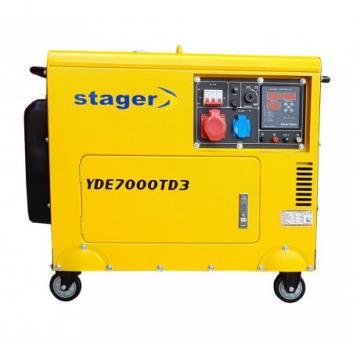 Generator de curent cu pornire electrica YDE7000TD3 Stager