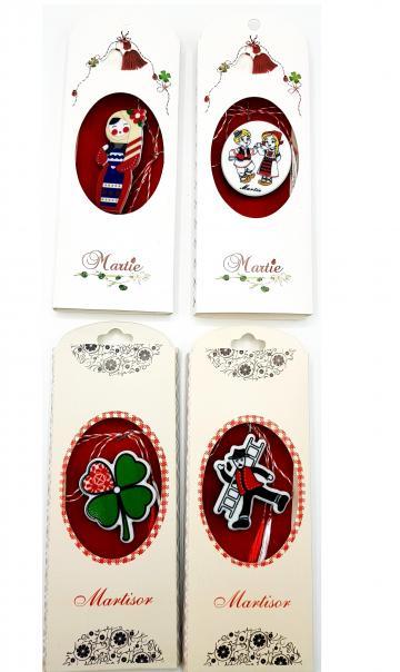 Martisoare brosa Simbolul Traditiei (x-y), set 5 bucati de la Eos Srl (www.martisoare-shop.ro)