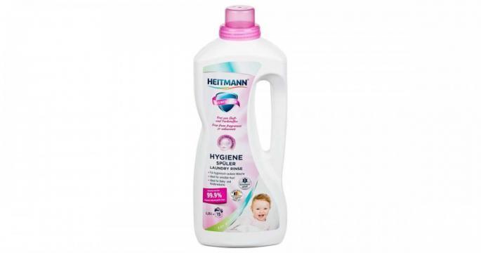 Aditiv de spalare dezinfectant Heitmann Sensitive 1250ml de la Pepita.ro