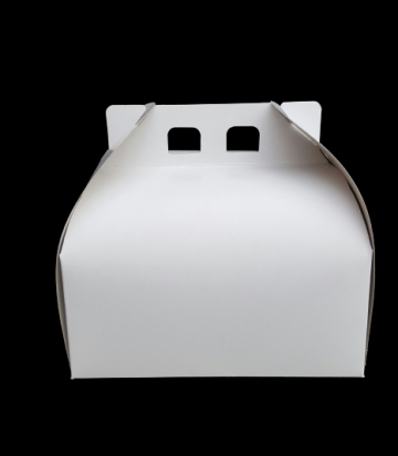 Cutii albe tort CT23 (23x23x16cm) 25 buc/set de la Cristian Food Industry Srl.