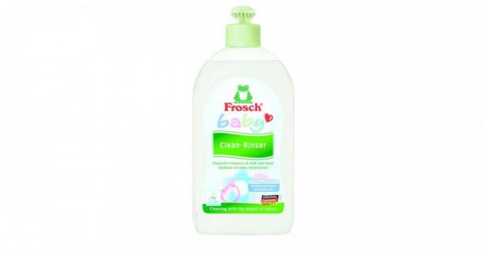 Detergent lichid de spalat vase Baby Frosch 500ml