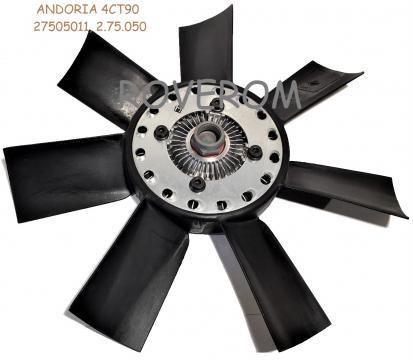 Elice ventilator cu vascocuplaj Andoria 4CT90, GAZelle, Aro de la Roverom Srl