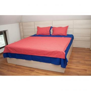 Lenjerii de pat din bumbac albastru de la Gastro Bar Solutions Srl