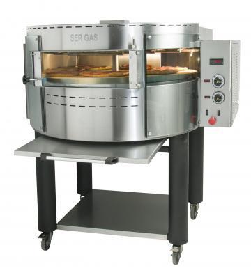 Cuptor electric pentru pizza rotativ RPE1 de la Clever Services SRL
