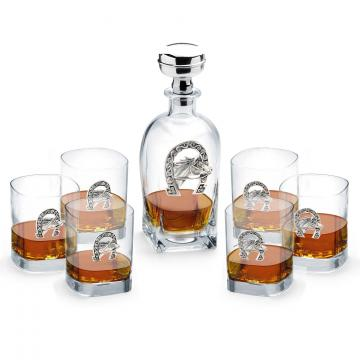 Sticla de whisky si set 6 pahare made by Chinelli Italy de la Luxury Concepts Srl