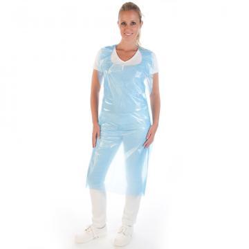 Sort protectie din LDPE 20my - albastru, unica folosinta