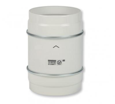 Ventilator In-line 100 TD-250/100 Ecowatt de la Ventdepot Srl