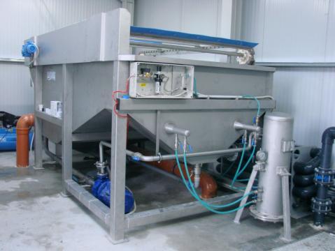 Statii de epurare ape uzate in industria alimentara de la Asio Romania S.r.l.