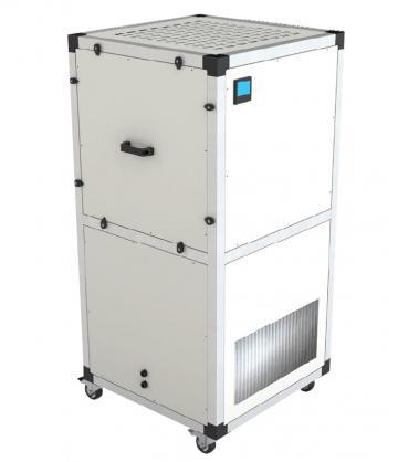 Unitate purificare aer mobila UPM/EC-400-HEPA-CG