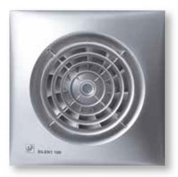 Ventilator de baie Silent-100 CRZ Silver