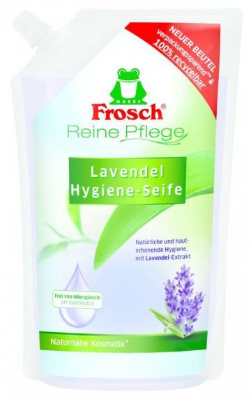 Rezerva sapun lichid cu extract de lavanda 500ml Frosch
