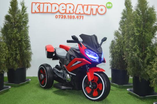 Motocicleta electrica cu 3 roti BJ618 2x30W cu Music player de la SSP Kinderauto & Beauty Srl