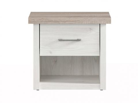 Noptiera Jaz, ulm/stejar, 51 cm de la CB Furniture Srl