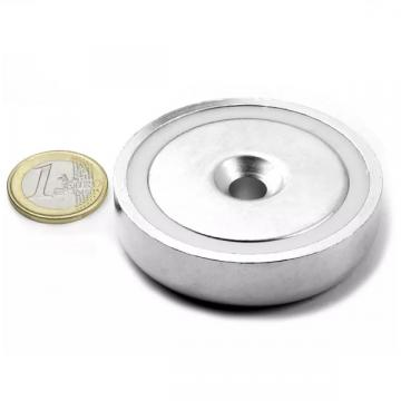 Magnet neodim oala 60 mm, cu gaura ingropata, putere 130 de la Arca Hobber Srl