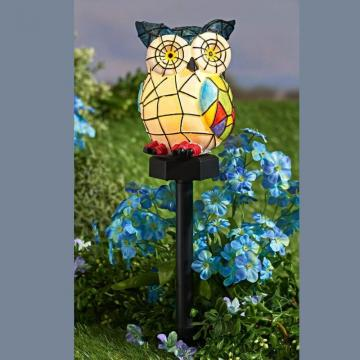 Lampa solara LED - Bufnita de la Plasma Trade Srl (happymax.ro)