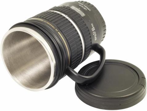 Cana termos obiectiv foto EF-S 17-55mm de la Www.oferteshop.ro - Cadouri Online