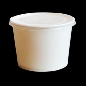 Bol supa carton alb 12oz (355ml) 100 buc/set de la Cristian Food Industry Srl.