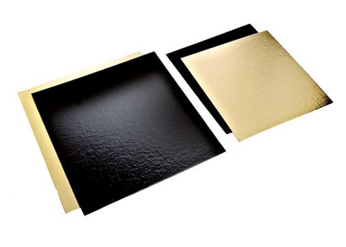 Planseta dreapta auriu/negru 19,5x22,5cm de la Cristian Food Industry Srl.