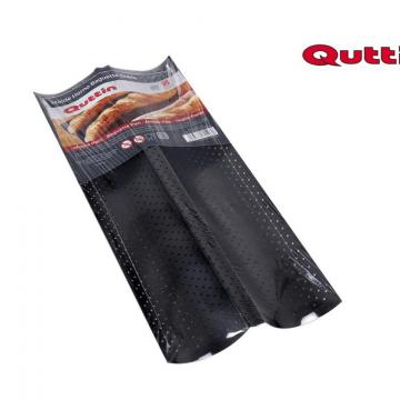 Forma dubla pentru copt baghete la cuptor-Quttin