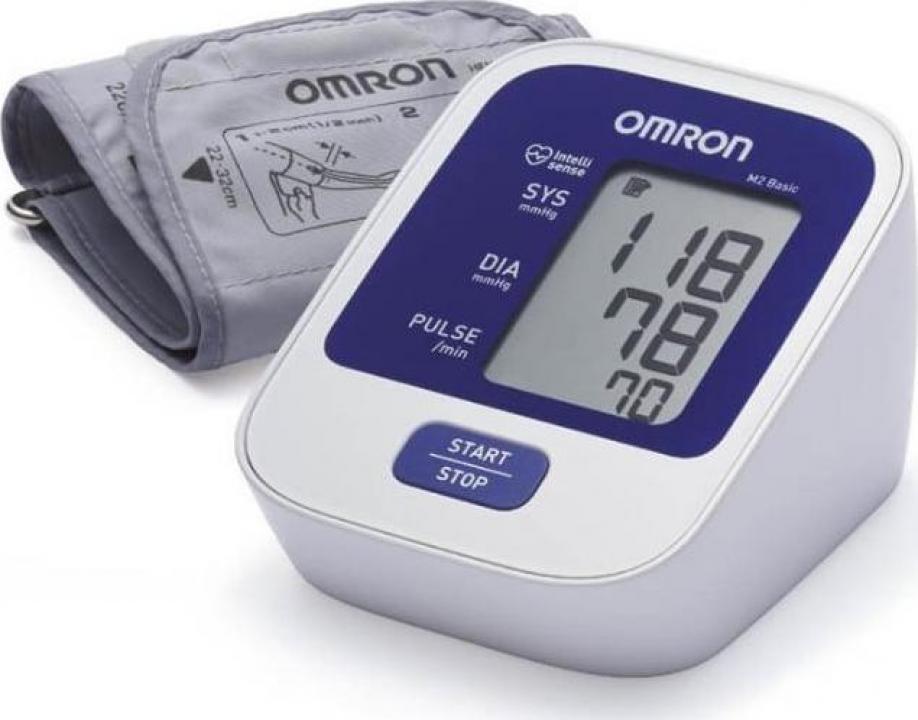 Tensiometru electronic de brat Omron M2 Basic