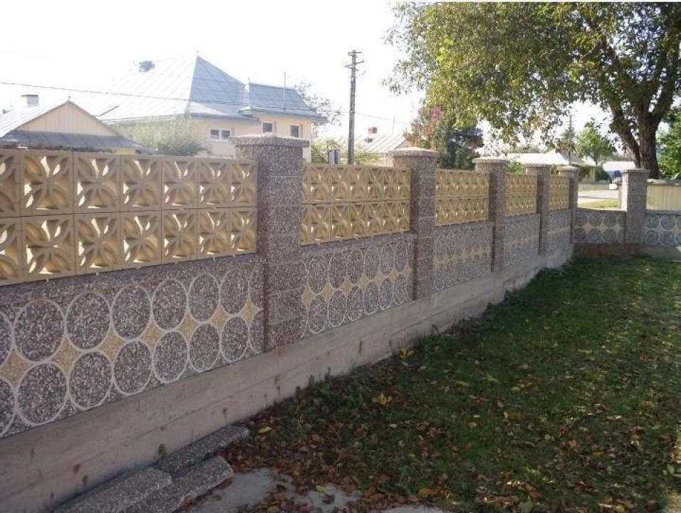 gard si plasa din beton liteni prefabet srl id 15537449. Black Bedroom Furniture Sets. Home Design Ideas