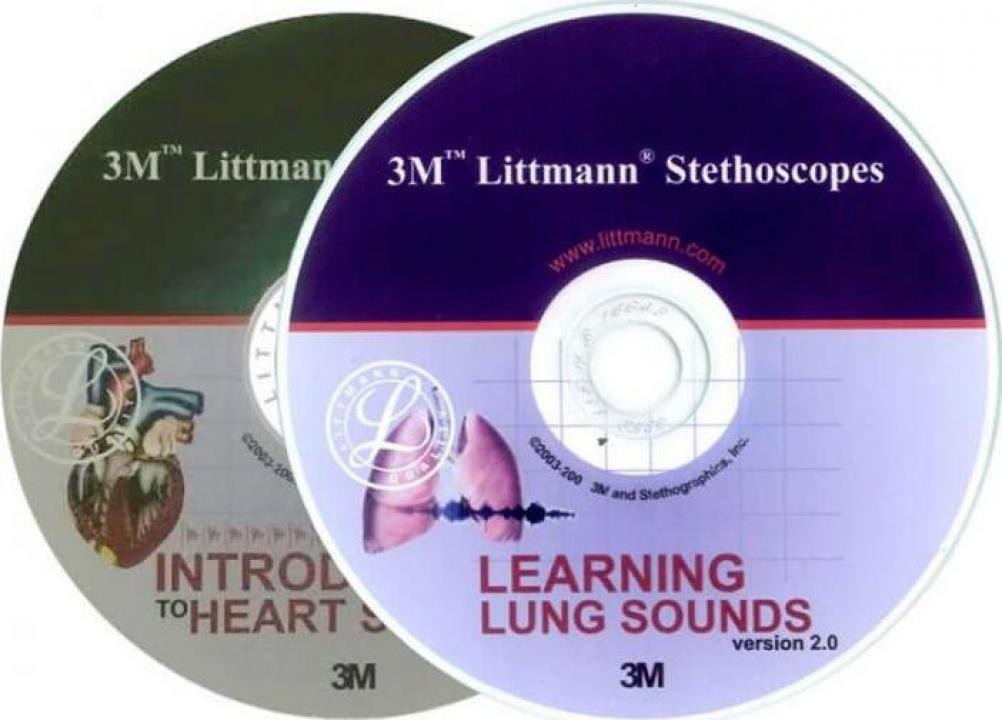 CD educational pentru stetoscoapele 3M Littmann