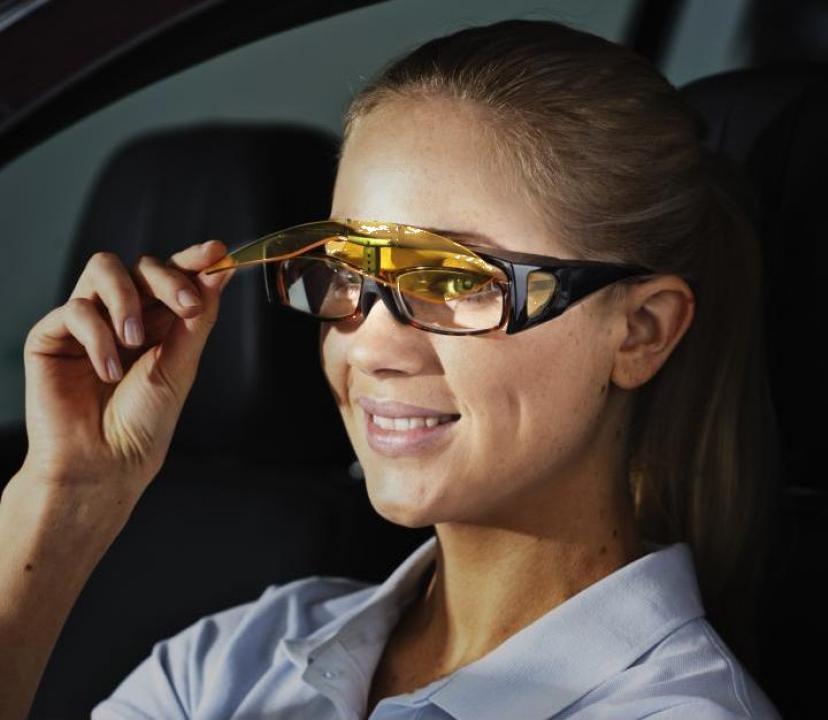 Ochelari pentru condus noaptea rabatabili