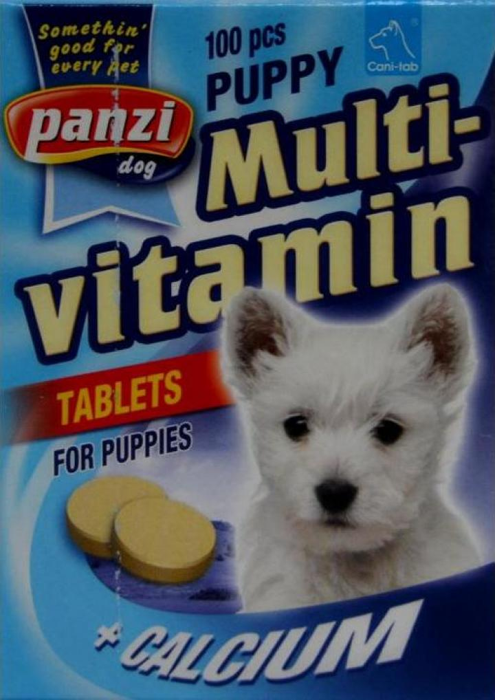 Vitamine caini tineri Multivitamin Puppy Panzi