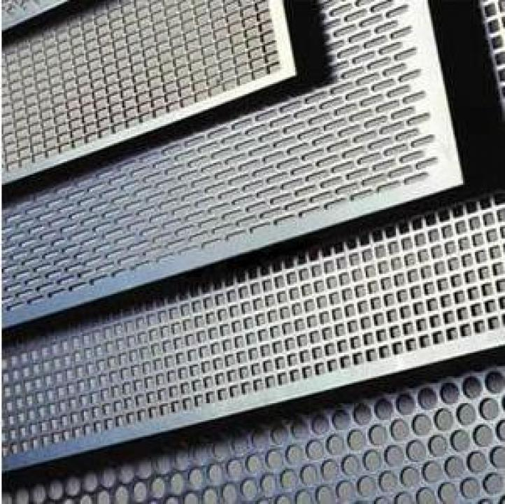 Tabla aluminiu perforata (gaurita)