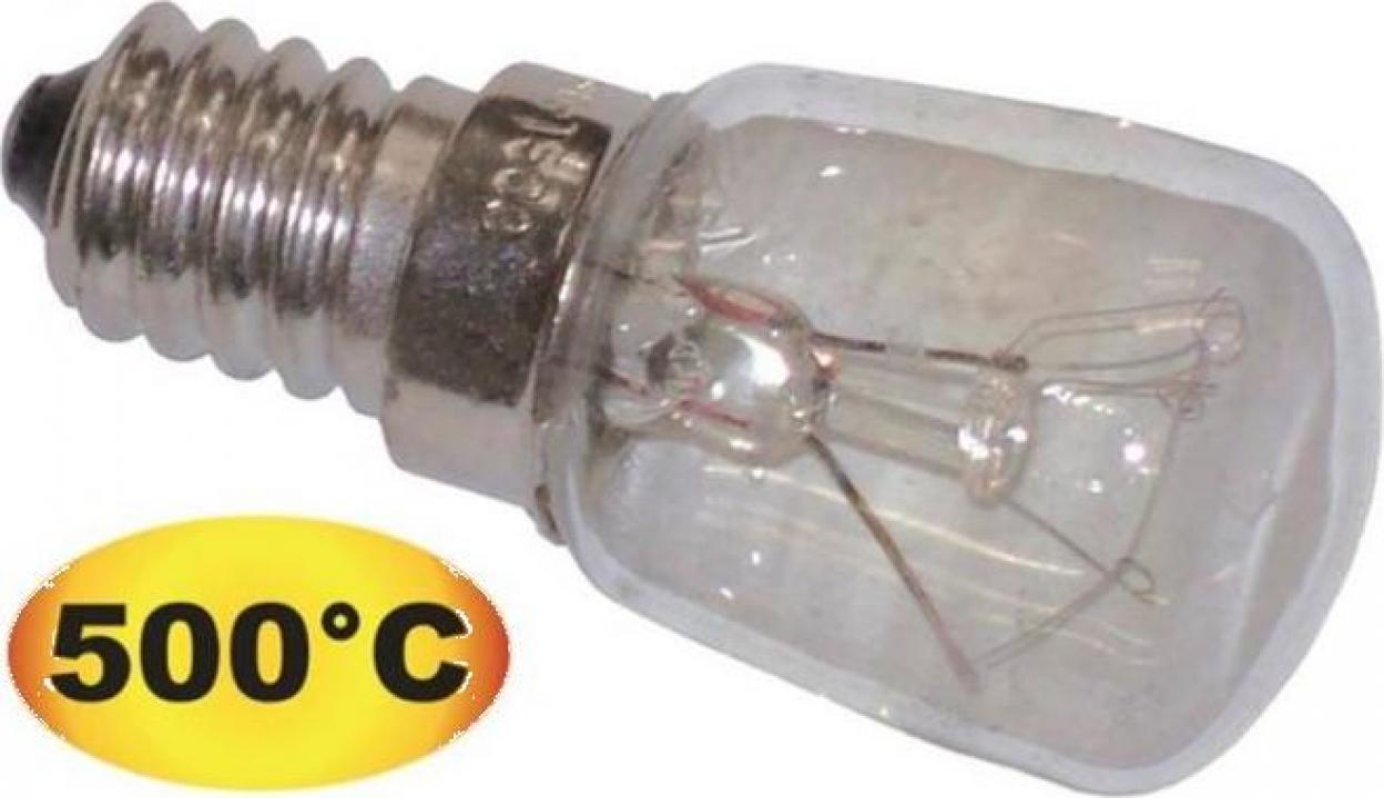 Bec cu incandescenta 500C E14 230V 25W