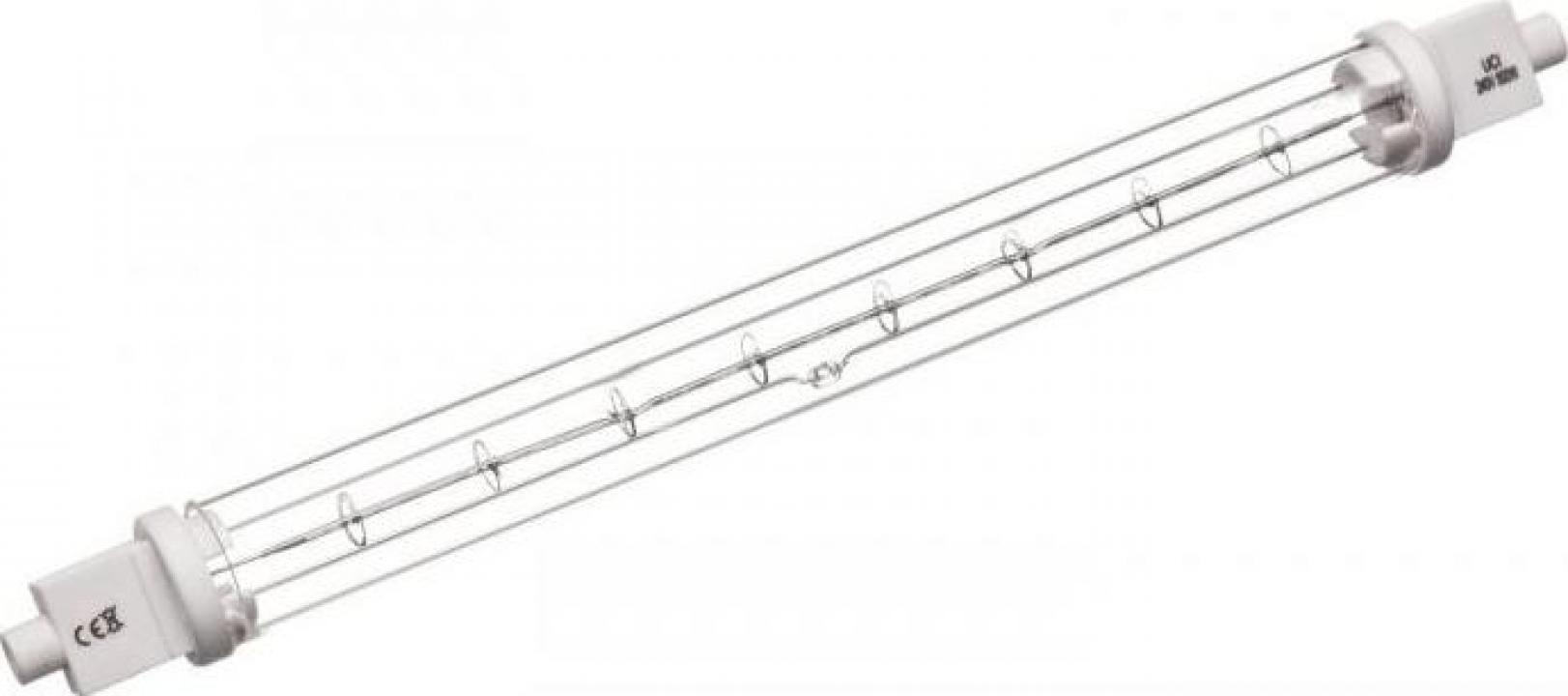 Lampa infrarosu R7s, 240V, 500W, L218mm 359536