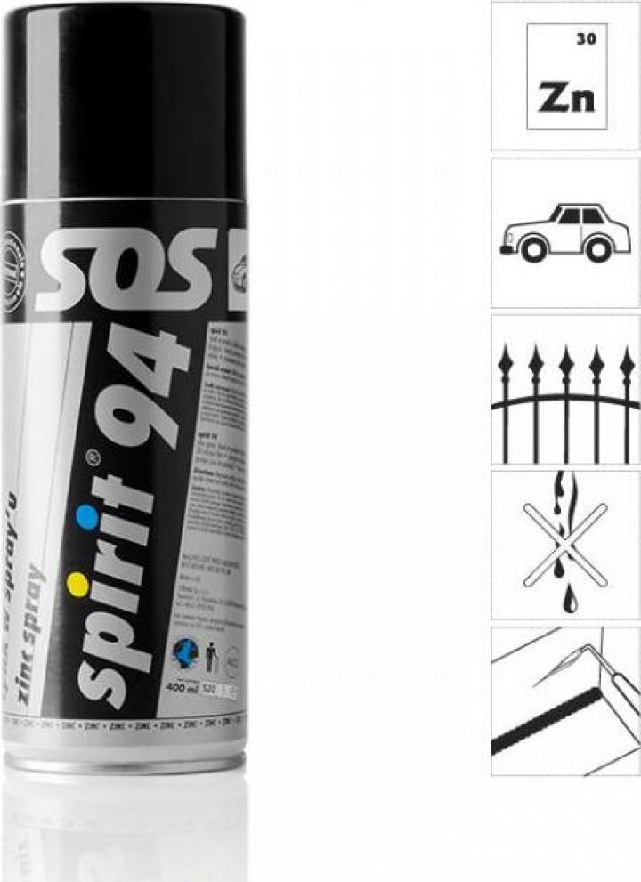 Spray zinc Spirit 91, 400 ml
