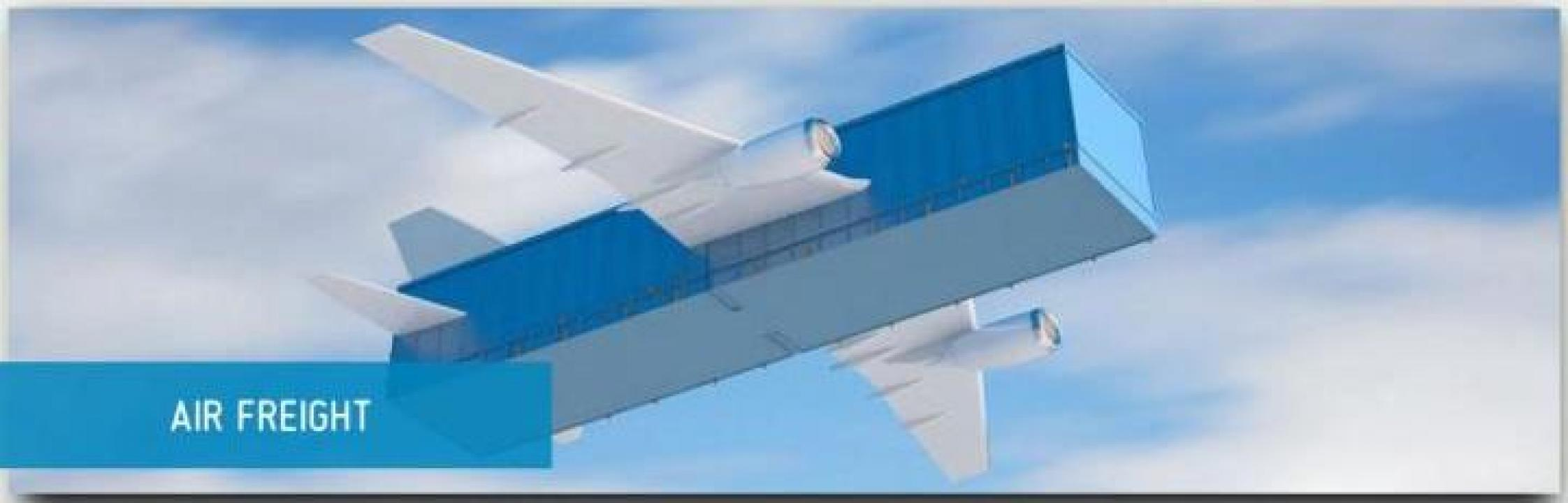 Transport aerian cargo