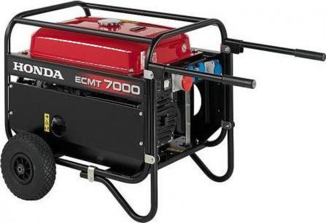 Generator de curent electric trifazat Honda 7 ECMT 7000 GV