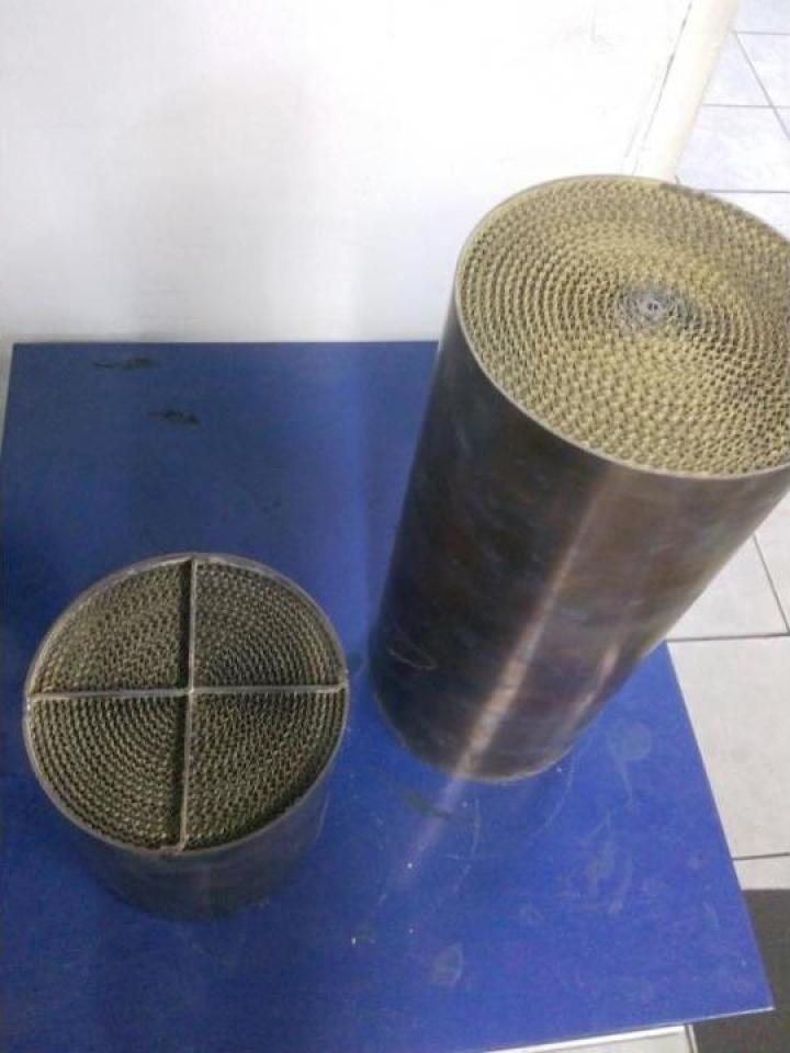 Filtru de particule Sport, metalic autoregenerare