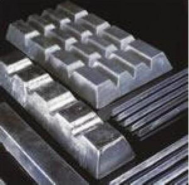 Lingouri de zinc
