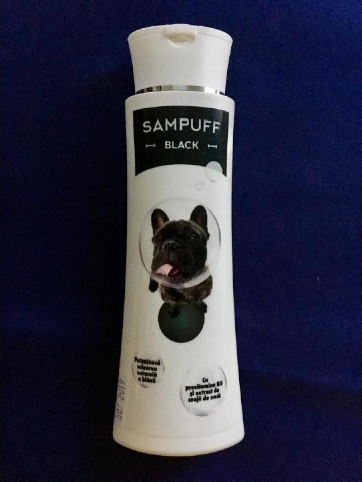 Sampon caini, pisici Sampuff black