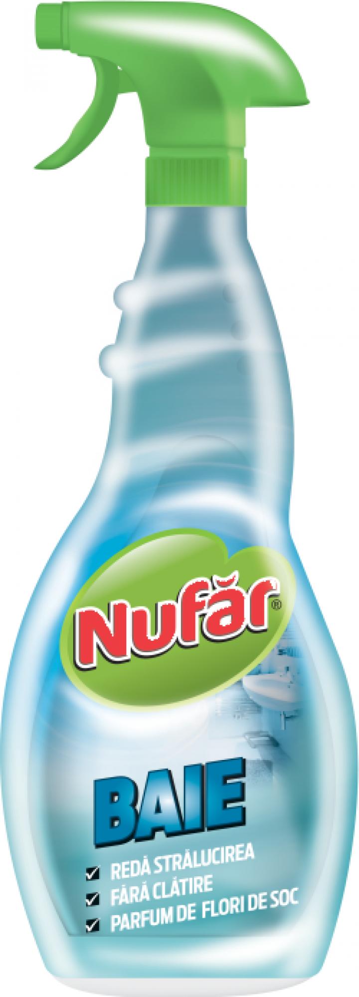 Solutie dezinfectanta pentru baie Nufar, 500 ml