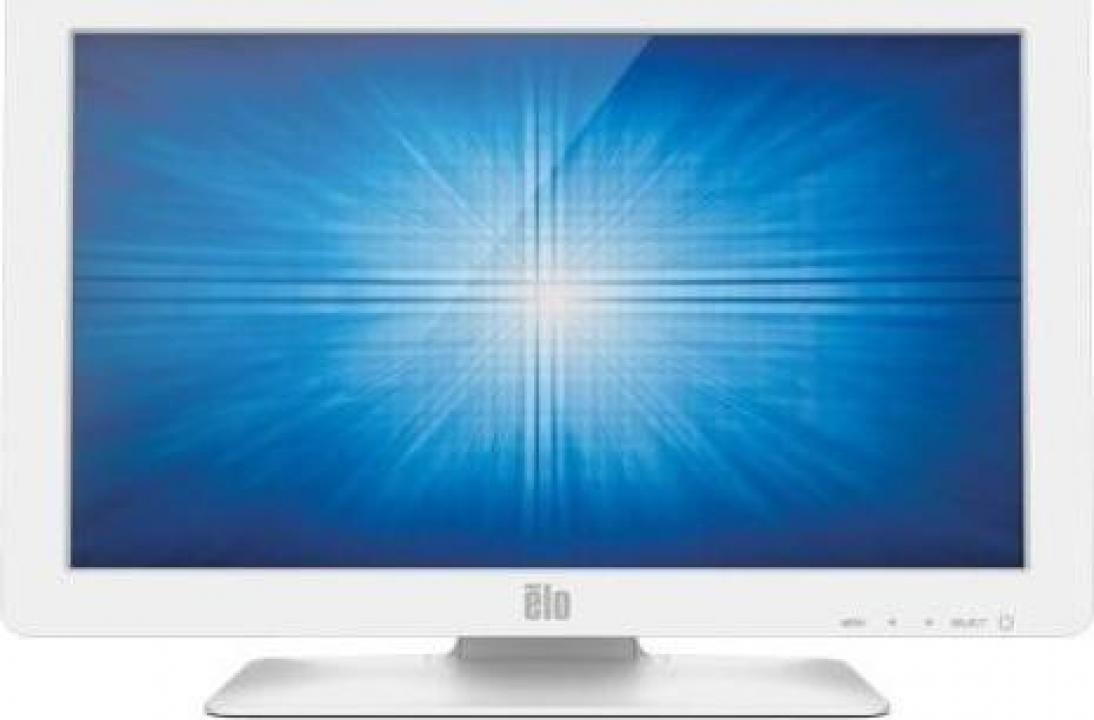 Monitor 24 inch Elo ET2401LM, White, LED